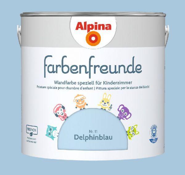 Alpina Farbenfreunde Nr. 11 Delphinblau, 2,5 L