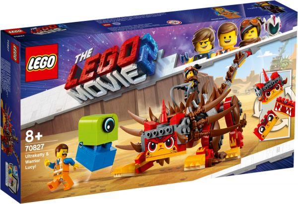 LEGO Movie 2 - Ultrakatty und Krieger Lucy, 70827