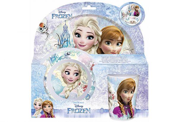 """Kinder-Geschirrset """"Frozen"""", 3 tlg."""
