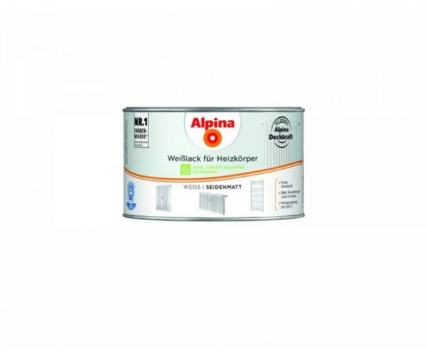 Alpina Weißlack für Heizkörper seidenmatt