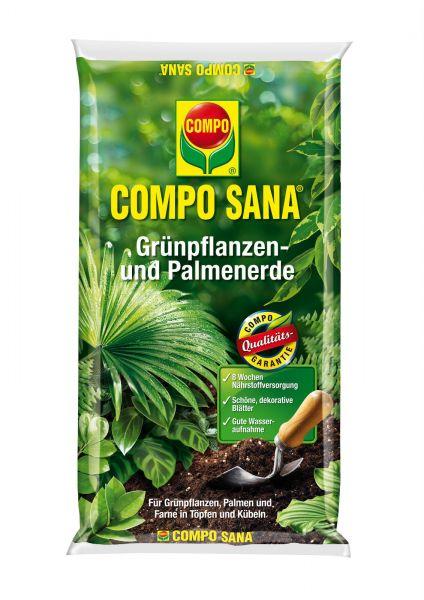 Compo Erden COMPO SANA Grünpflanzen- & Palmenerde, 5 l