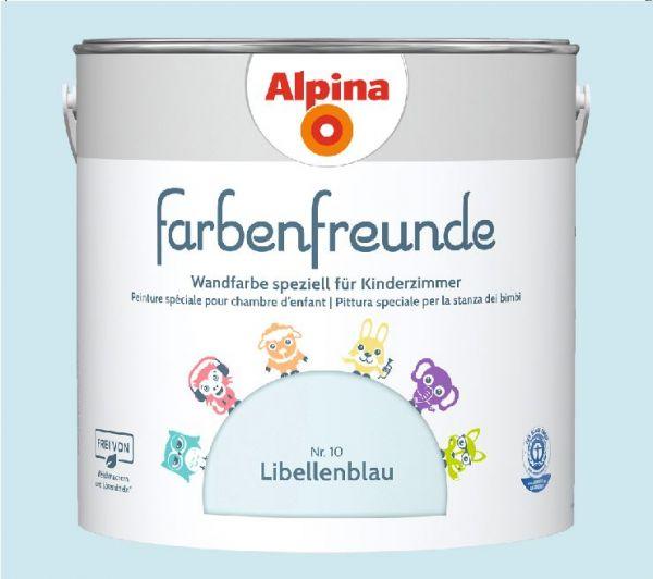 Alpina Farbenfreunde Nr. 10 Libellenblau, 2,5 L