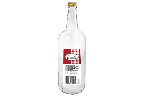 Gradhalsflasche 700 ml mit 28 mm PP-Verschluss