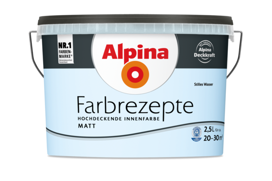 "Alpina Farbrezepte ""Stilles Wasser"""