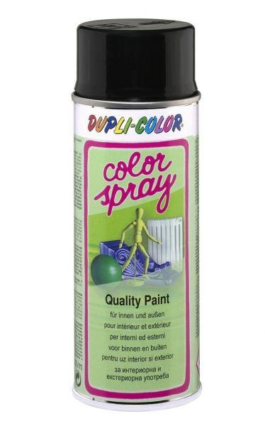 DUPLI-COLOR Color-Spray tiefschwarz glänzend RAL9005 400 ml