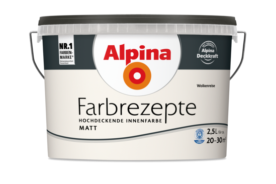 """Alpina Farbrezepte """"Wolkenreise"""""""