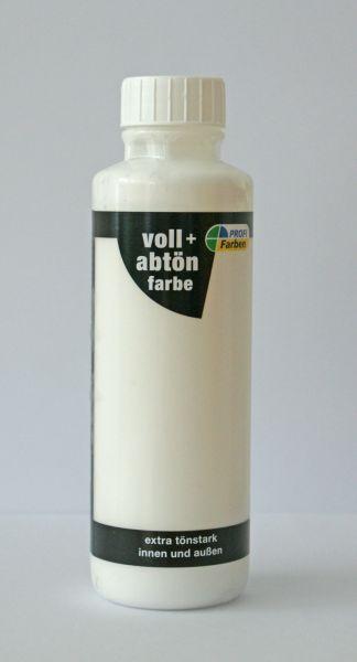 PROFI Voll- und Abtönfarbe Weiß