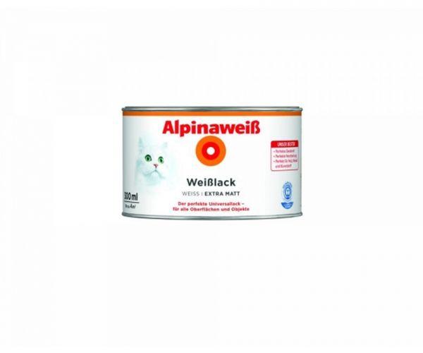 Alpinaweiß Weißlack extra matt