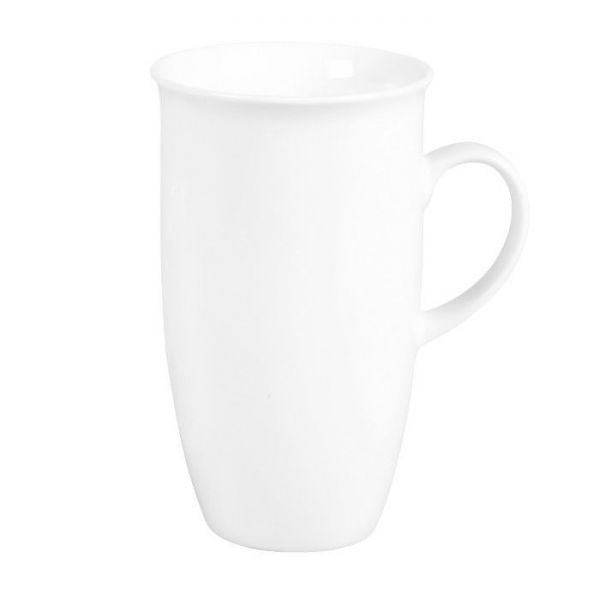 Flirt by R&B Serie Bianco, weiß Latte Kaffeebecher XXL