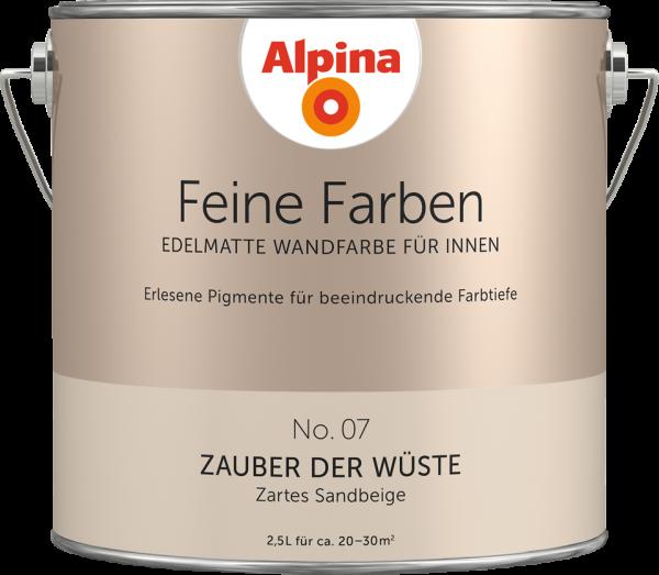 """Alpina Feine Farben No. 07 """"ZAUBER DER WÜSTE"""" - Zartes Sandbeige"""