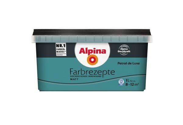 """Alpina Farbrezepte """"Petrol de Luxe"""""""