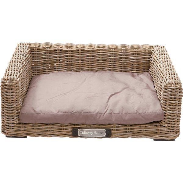 Rattan Sofa für Hunde, Hundeliege