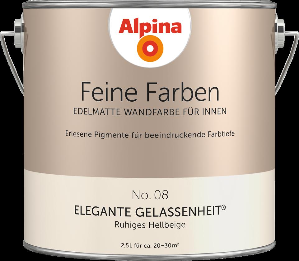 Alpina Feine Farben No 08 Elegante Gelassenheit Ruhiges