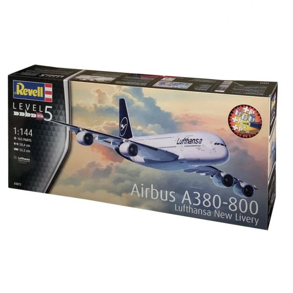 Revell Airbus A380-800 Lufthansa-Bundle