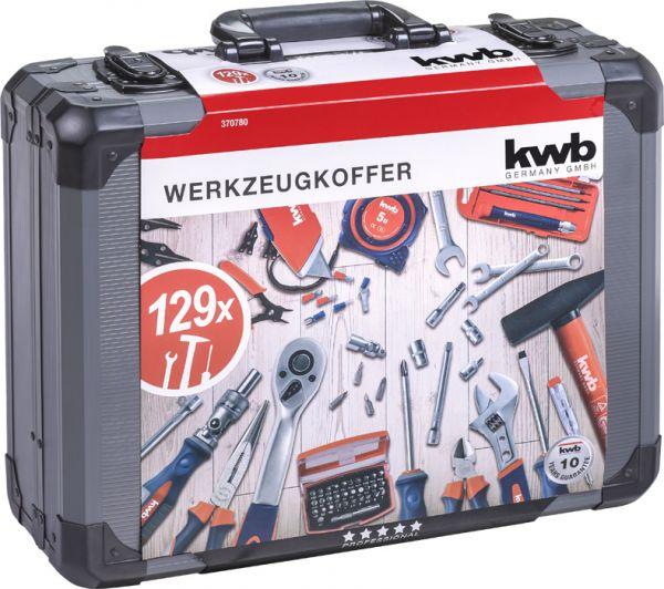 kwb Werkzeugkoffer 129-tlg.