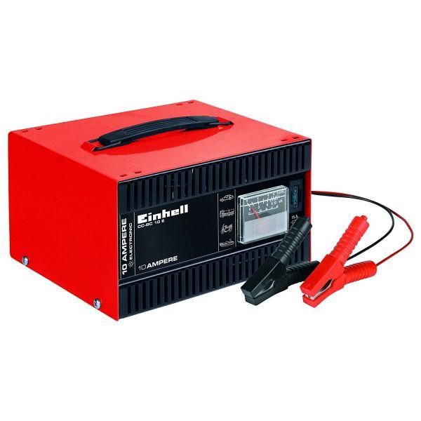 Einhell Batterie-Ladegerät CC-BC 10 E, 12 V, für Batterien 5 - 200 Ah