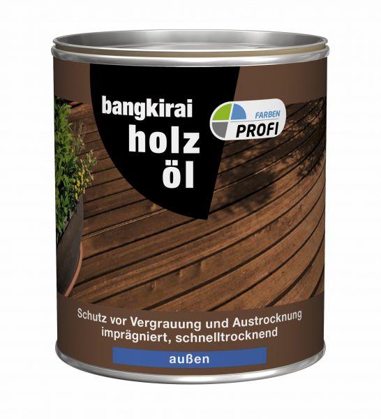 "PROFI Holzöl ""Bangkirai"", 750 ml"