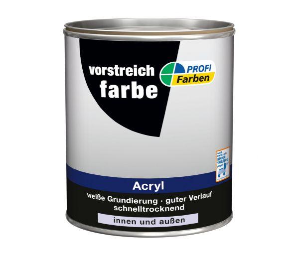 PROFI Acryl Vorstreichfarbe weiß
