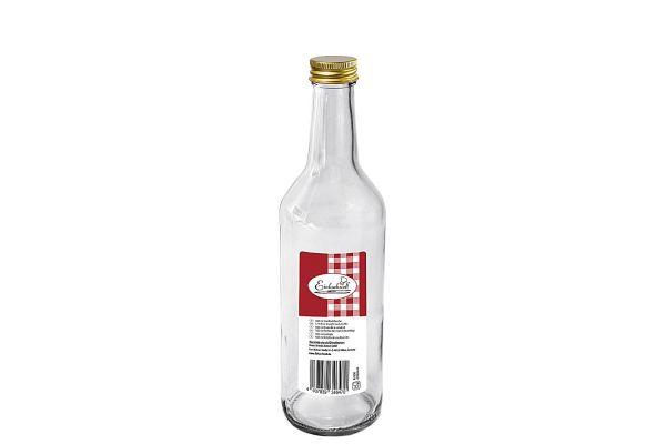Gradhalsflasche 500 ml mit 28 mm PP-Verschluss