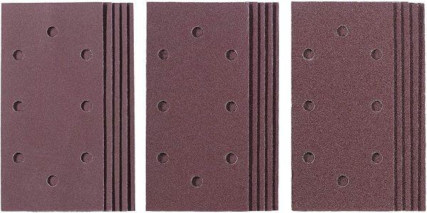Einhell Q-Stick Schleifpapier-Set, 15-tlg. (187 x 93 mm)