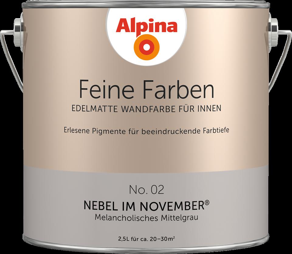 Alpina Feine Farben Nebel Im November : alpina feine farben no 02 nebel im november ~ Watch28wear.com Haus und Dekorationen