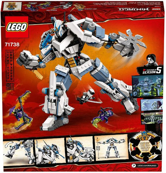 "LEGO Ninjago ""Zanes Titan Mech Battle"", 71738"