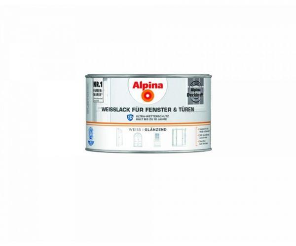 Alpina Weißlack für Fenster & Türen glänzend