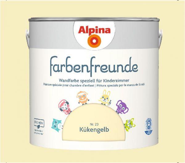 Alpina Farbenfreunde Nr. 23 Kükengelb, 2,5 L