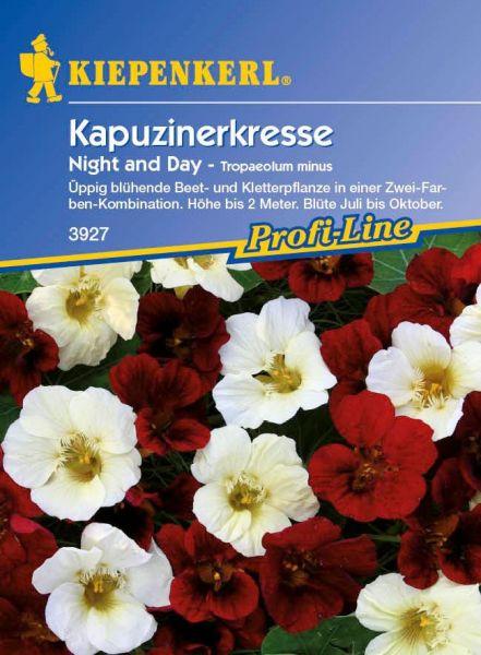 Kiepenkerl Kapuzinerkresse Night and Day - Tropaeolum minus
