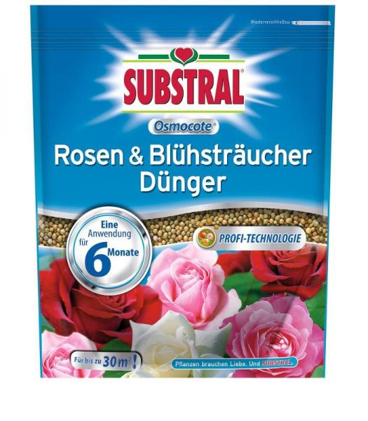 Substral Osmocote Rosen & Blühsträucher Dünger 1,5 kg