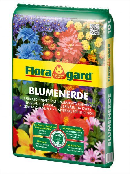Floragard Blumenerde, 10 L