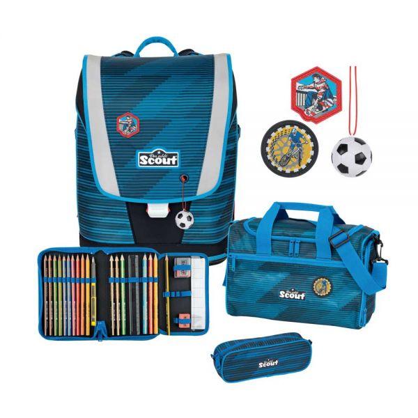 "Schulranzen-Set Scout Ultra ""Sport"", 4-tlg."