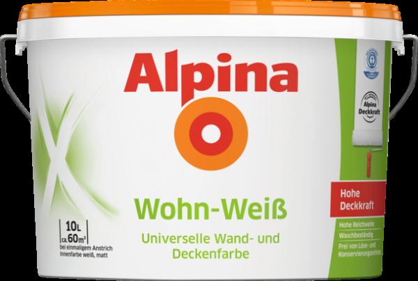 Alpina WohnWeiss 10 L