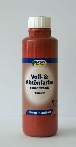 PROFI Voll- und Abtönfarbe Rotbraun