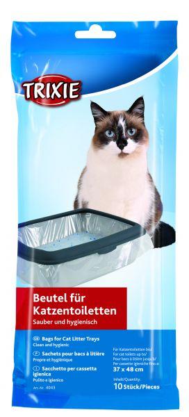 Trixie 10 Katzen-Toilettenbeutel, Gr. M