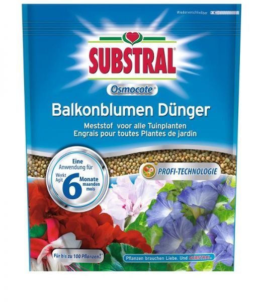 Substral Osmocote Balkonblumen Dünger 1,5 kg