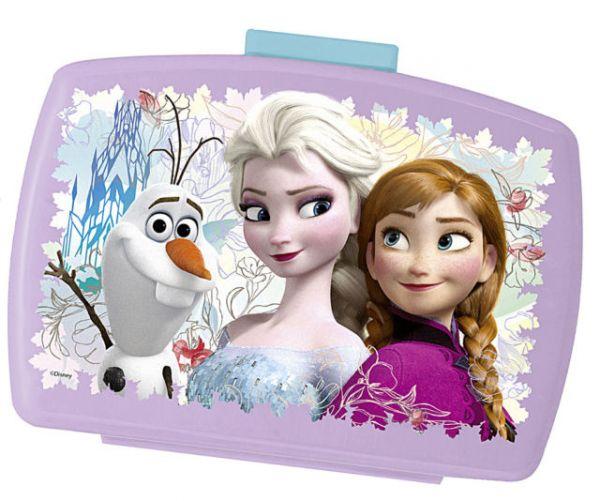 """Brotdose Kinderserie """"Frozen"""" mit Einsatz"""
