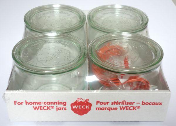 WECK® - Rundrandglas 100 - Tulpenform
