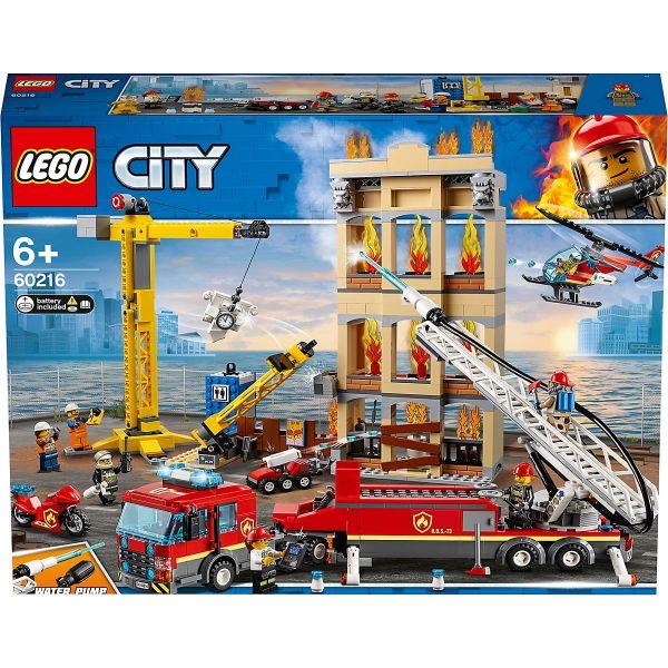 LEGO City - Feuerwehr in der Stadt, 60216