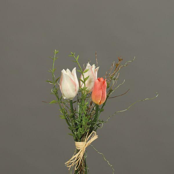 Tulpenbündchen creme-aprico