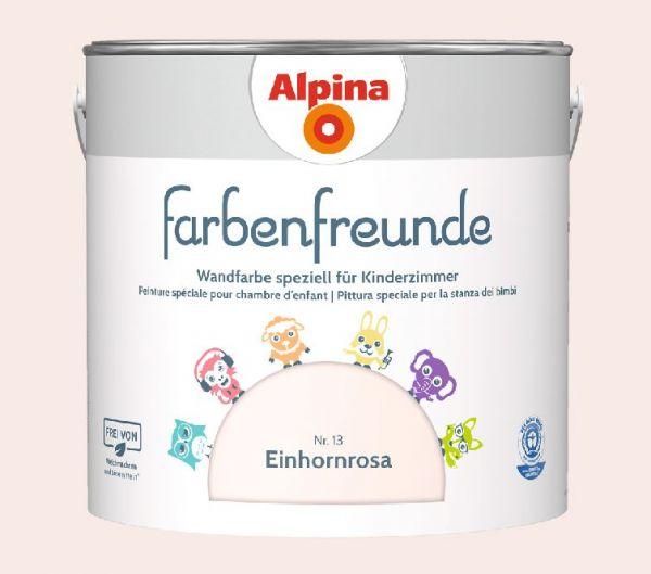 Alpina Farbenfreunde Nr. 13 Einhornrosa, 2,5 L