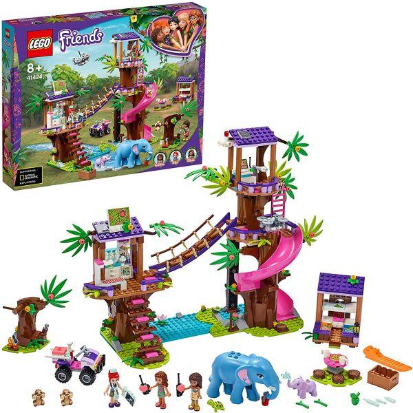 """LEGO Friends """"Tierrettungsstation im Dschungel"""", 41424"""