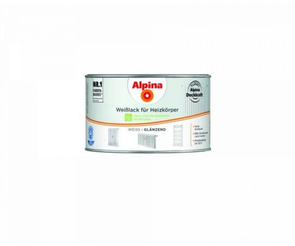 Alpina Weißlack für Heizkörper glänzend