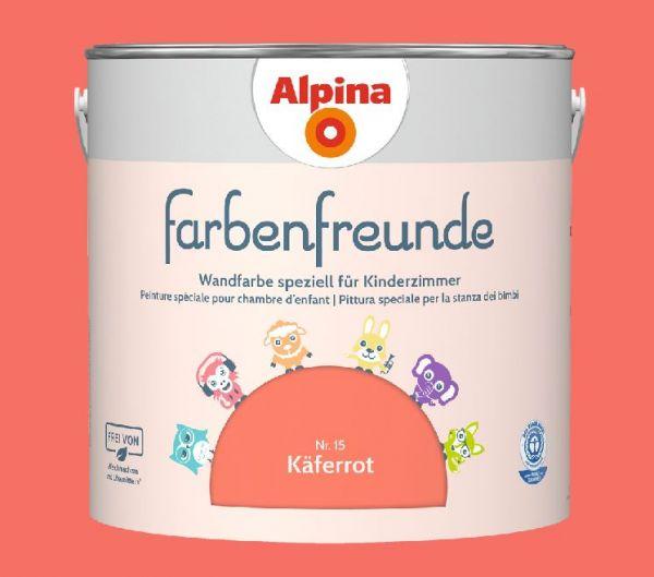 Alpina Farbenfreunde Nr. 15 Käferrot, 2,5 L