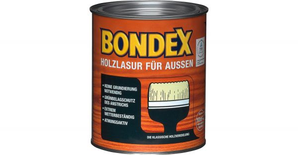 "BONDEX Holzlasur für Außen ""Kiefer"", 4 L"