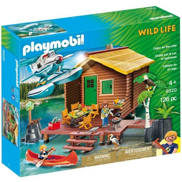 Playmobil Abenteuerurlaub an der Seehütte, 9320