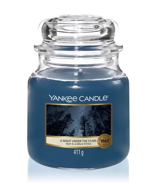 Yankee Candle A Night Under The Stars™ (mittleres Glas)