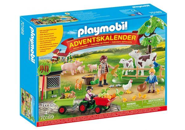 """Playmobil Adventskalender """"Auf dem Bauernhof"""", 70189"""