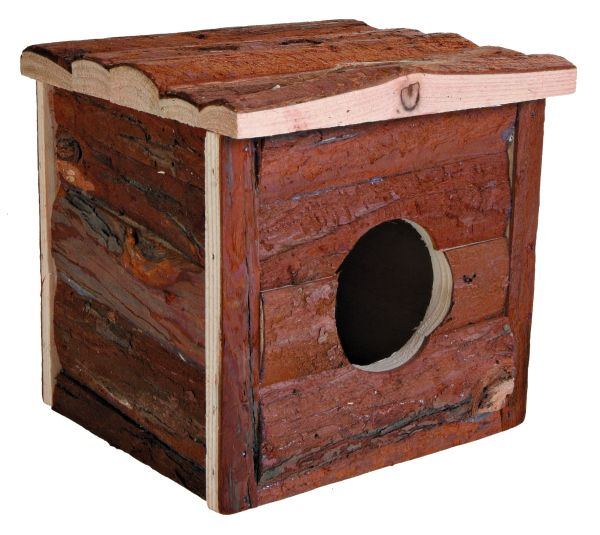 """Trixie Blockhaus """"Jerrik"""" für Kleintiere, 15 x 14 x 15 cm"""