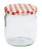 Delikatessglas, 425 ml